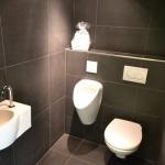 Toiletruimte in antraciet