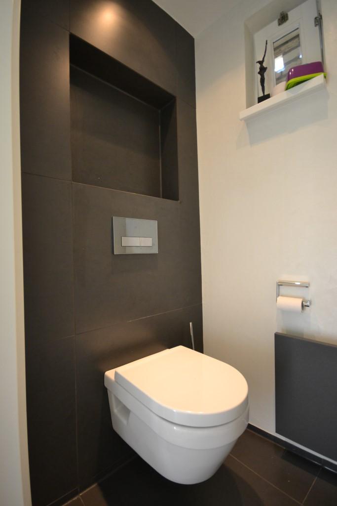 Toiletruimte Met Stucwerk Ba S