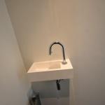 Toiletruimte met stucwerk